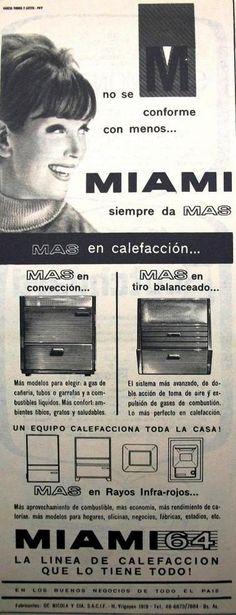 Miami Calefactores 1964