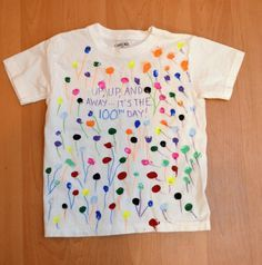 SO cute tshirts, good for any day! There's even one with google eyes! == 100 days of school shirt