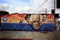 Street Gallery: Sunset Junction features WikiLeaks founder | The Eastsider LA
