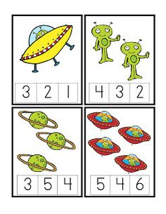 Preschool Printables: Space More