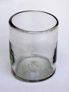 Clear blown glass tumblers 6 pcs | MEXICAN GLASSWARE want 12 also available an amazon thru this shipper.love