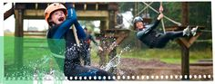Foxlake Adventures - Scotland's First Wakepark - Dunbar, East Lothian Creative Activities, Outdoor Activities, Fox Lake, Ropes Course, Open Water Swimming, Star Awards, Wakeboarding, Great Stories, Outdoor Fun