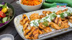 And our Tandoori chicken strips with carrot salad, is a quick and easy midweek meal that'll add the exotic taste of India to your plate.