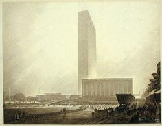 Hugh Ferriss art deco architecture