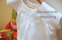 Oliver + S Ice Cream Dress with honeycomb smocking