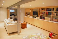 Modern Basement Photos Design, Pictures, Remodel, Decor and Ideas - page 32