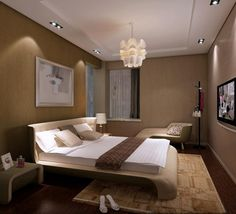 Bedroom Vaulted Ceiling Design Ideas Ceilingideas Ceilingdesign Modern Lighting