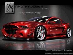 Shelby GT500 Eleanor   Shelby GT500 Eleanor prototype...
