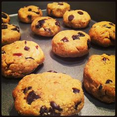 Peanut Butter Cherry Chocolate Chip Cookies - Talia Fuhrman