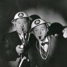 Laurel and Hardy, they were great togehter.