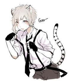 This story is about a neko named Blake who lives with his master and also goes to school with him. Find out what happens in twist and turns.I wrote this myself on Wattpad read it :P Anime Cat Boy, Neko Boy, Anime Neko, Cute Anime Boy, Anime Kawaii, Anime Love, Anime Guys, Anime Art, Manga Boy