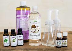 DIY Antibacterial Foaming Hand Soap | HelloNatural.co