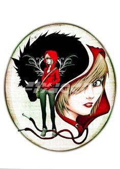 The Modern Red Riding Hood by FlyDeco.deviantart.com on @deviantART