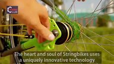 Bicycle that runs with Strings and no Chain?!?!