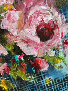 Heidi Shedlock | Essential But Not Essential - floral oil painting available for sale online | StateoftheART Canvas Size, Original Paintings, Fine Art, Floral, Artwork, Artist, Flowers, Creative Painting Ideas, Creativity