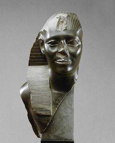King Taharqa, 25th Dynasty, Nubian/Kushite Dynasty   Defacing Truth,You Cannot Erase Truth!