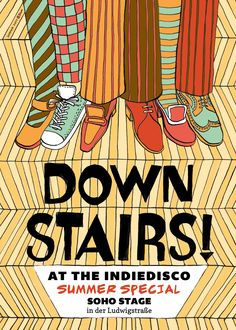 Down Stairs! at the Indiedisco  (Summer-Version)