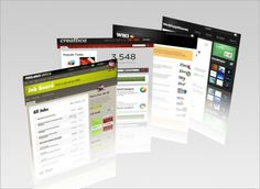 3D Display of the Graphic Design Renderings