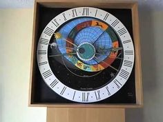 Time Lapse of Day and Night on Astronomical Clock