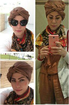 Cognac Overall   #overall #cardigan #abudhabi #adstreetstyle #selfie #ootd