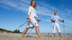 Nordic Walking: Anleitung für die Trendsportart - SAT.1 Ratgeber Nordic Walking, Cross Training, Sport Fitness, Health Fitness, Sat 1, Sport Treiben, Exercise, South Africa, Sports