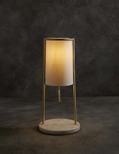 Buy the Clark Table Lamp from Marks and Spencer's range.