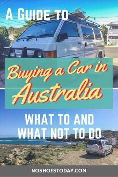Buying a car in Australia