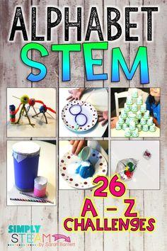 Alphabet STEM Challe