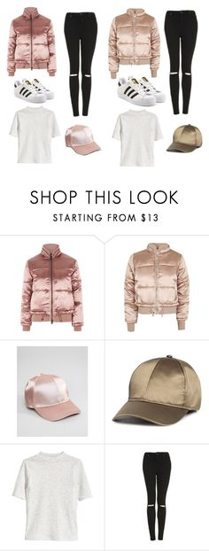 """""""Lisa and Lena"""" by whitney555 ❤ liked on Polyvore featuring Topshop, ASOS and adidas Originals"""