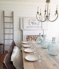 20 Gorgeous Farmhouse Dining Room Decor Ideas