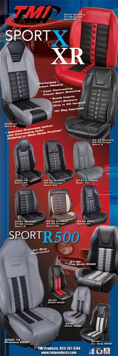 sport mustang seats