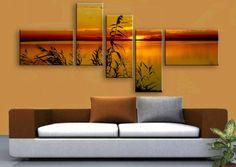 Multi-Panel Canvas Print.Split one photo into five panels. Set of 3, 4, 5 piece wall art