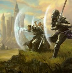 m Fighter Eldritch Knight Hvy Armor Casting 2 m Fighters Hvy Armor Swords Protection Spell Castle farmland hills Fantasy Concept Art, Fantasy Story, Fantasy Character Design, High Fantasy, Fantasy Rpg, Medieval Fantasy, Fantasy Artwork, Fantasy World, Character Art