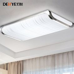 YPOSION Rectangle drawingLED Ceiling light modern minimalist living room ceiling lighting lamps 460660mm LED Flat Panel >>> Check this awesome product by going to the link at the image.