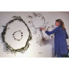 Judith de Vries is making sure our walls are always filled with a little nature.