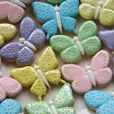 images of butterfly cookies | click on picture for larger image
