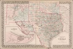 Many Sizes; Map Of Cherokee County Texas 1879 Poster