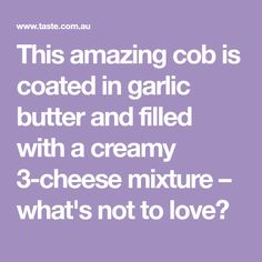This amazing cob is coated in garlic butter and filled with a creamy mixture – what's not to love? Christmas Lunch, Christmas Dishes, Aussie Christmas, Christmas Recipes, Christmas Ideas, Garlic Butter, Garlic Bread, Cob Loaf Dip, Cobb Loaf