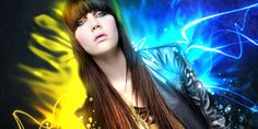 Create Electrifying Light Effects Around an Image
