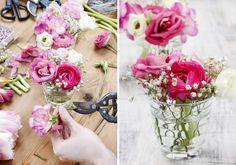 Wer die Tischdeko selber machen möchte, findet bei uns einige schöne Anregungen... | Große Bildergalerie | Ideen & Inspirationen | Tipps & Infos