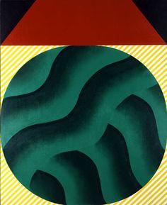 f:id:shiga-kinbi:20111210105240j:image 菅井汲(すがい・くみ) 「まるい森」 「近代の洋画・響き合う美─兵庫県立美術館名品展─」