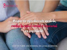 Cuida tu #SaludMental durante un proceso de #ReproducciónAsistida ↝ Evita el aislamiento social y apóyate en los tuyos ↜ #DiaMundialSaludMental #Infertilpandy