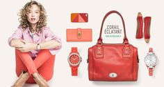 Nouvelle collection Fossil #orange