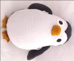 Plushie – Penguin #sewing_patterns #free