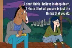 Bojack and Diane Truths