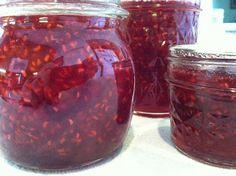 Canning Homemade!: Canning Raspberry delight --Raspberry Vanilla Jam Recipe