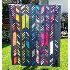 Alison Glass Feathers Quilt Top!   Flickr - Photo Sharing!