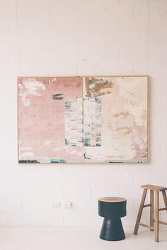 Light Art, Abstract Art For Sale, Beige Art, Spray Paint On Canvas, Colour Field, Affordable Art, Texture Art, Art Boards, Canvas Frame