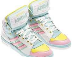 Adidas Originals Jeremy Scott Miami South Beach Trainers Shoes 10 UK | eBay #pastels #kawaii #cute
