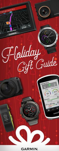 Thoughtful gift ideas for everyone on your list — from smart watches to cycling computers and more.